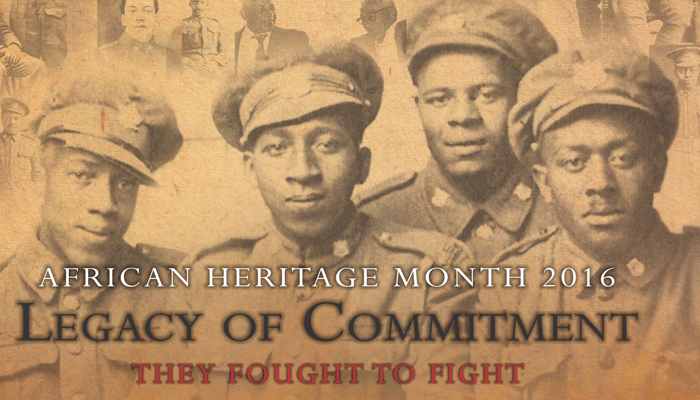 African Heritage Month Celebrates No. 2 Construction Battalion