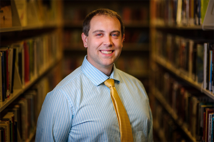 Jeff Mercer, Librarian, South Shore Public Libraries