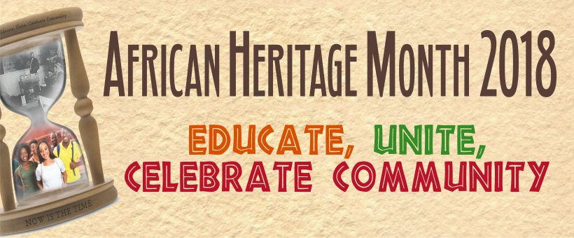February is African Heritage Month
