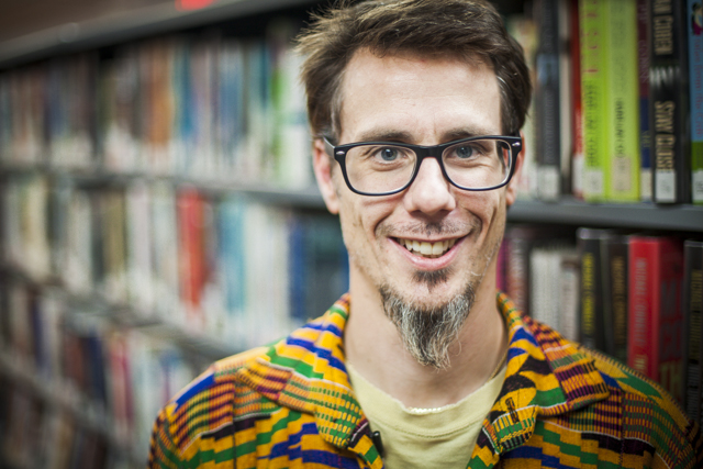 Chris Benjamin, Writer in Residence, Pictou-Antigonish Regional Library