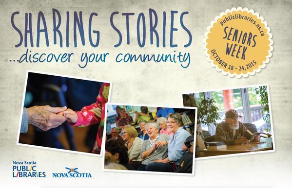 Nova Scotia Public Libraries' Seniors Week