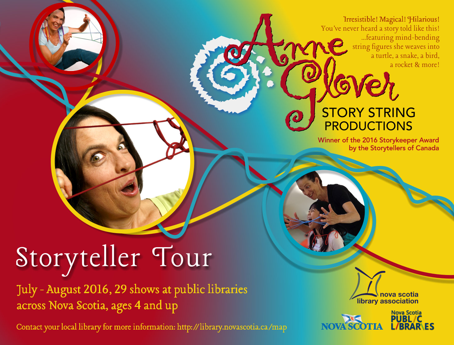 Anne Glover from Story string productions