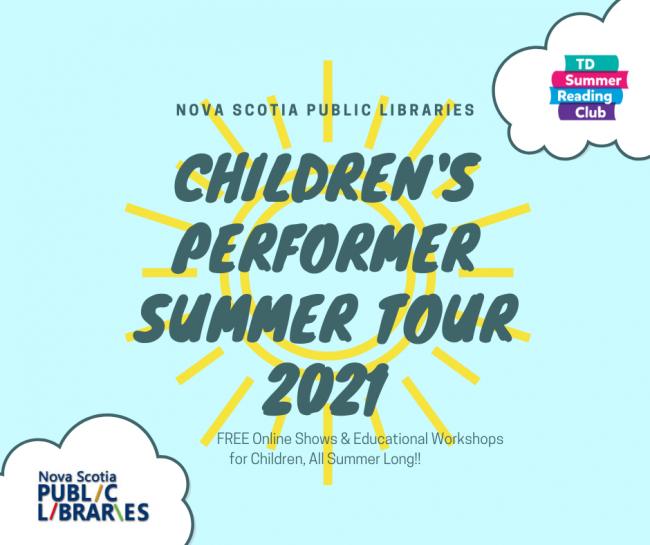 Children's Performer Summer Tour 2021